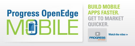 OpenEdge Mobile banner