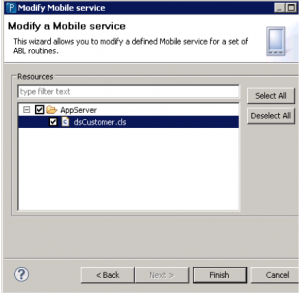 OpenEdge Mobile - part 6